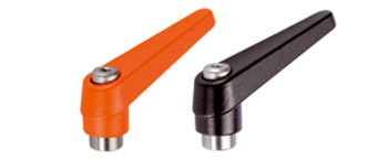 Adjustable Clamping Levers inner parts from stainless steel, with female thread