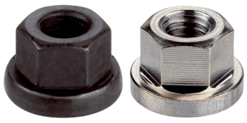Collar Nuts DIN 6331 (height 1,5 d)