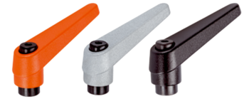 Adjustable Clamping Levers with female thread