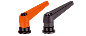 Adjustable Clamping Levers with axial bearing, with female thread