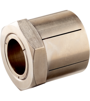 Tapered Shaft Hubs without lock nut, stainless steel