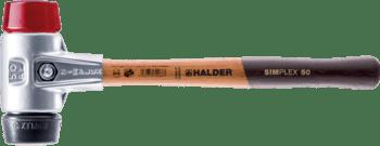 Maillets SIMPLEX avec boîtier en aluminium et manche en bois  IM0009088 Foto ArtGrp
