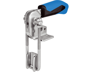 Toggle Clamps Hook Type vertical, with horizontal base  IM0009357 Foto ArtGrp