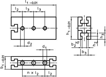 Mounting Blocks  IM0009544 Zeichnung