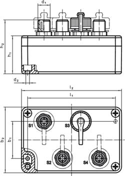 Radio Transmitters for retrieval unit  IM0009566 Zeichnung
