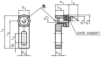 Fixed Drilling Supports adjustable  IM0000777 Zeichnung en