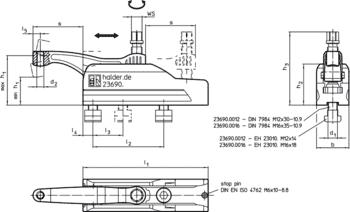 Compact Clamps  IM0001553 Zeichnung en