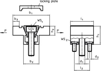 Double Edge Clamps machinable chucks  IM0001959 Zeichnung en