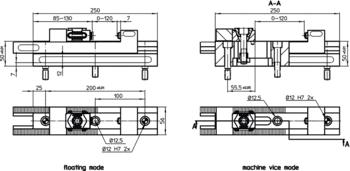 Combination Clamping Bars  IM0007634 Zeichnung en