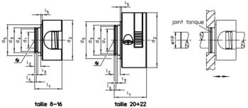 Joint torique  IM0000900 Zeichnung fr