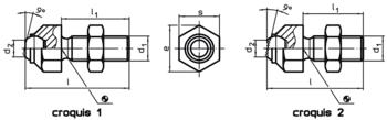Cimblots oscillants réglables  IM0002342 Zeichnung fr